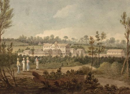 1826 Female Factory by Augustus Earle, courtesy of the National Library of Australia
